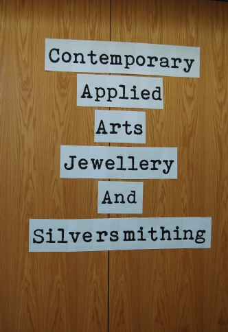 Belfast College of Art- Jewellery and Silversmithing